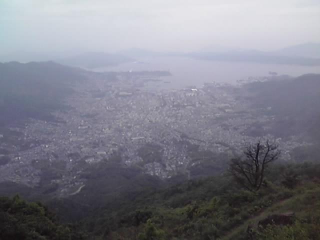 呉 灰ヶ峰からの眺望
